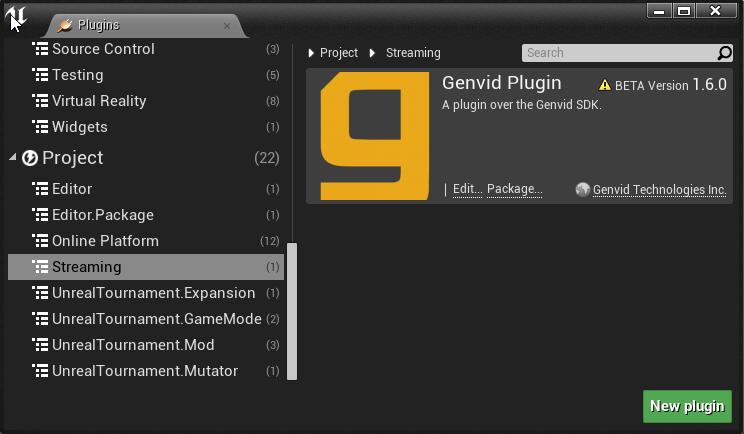 Unreal Engine 4 Genvid Plugin — Genvid Documentation 1 6 1 documentation