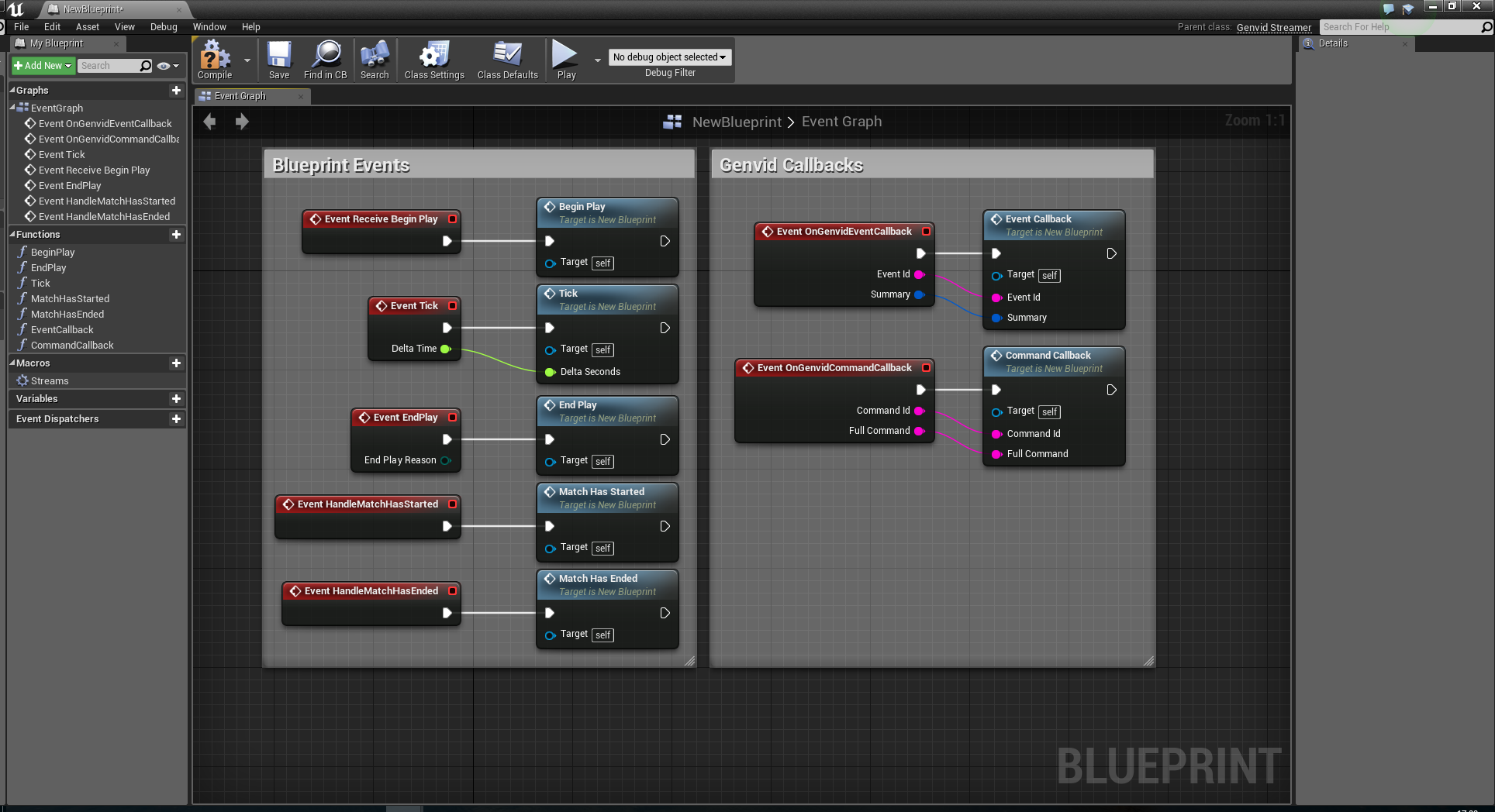 Unreal Engine 4 Genvid Blueprint — Genvid Documentation 1 9 0